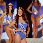 """<b>3.The Beauty Queen:</b> Delphine Wespiser, who won Miss France in 2012, wants to prove that she can win over electors as well as beauty pageant judges. Wespiser is a candidate in the village of Magstatt-le-Bas where she was born, in the Haut-Rhin department of eastern France. """"Perhaps if I had never become Miss France I would never have had the idea to enter politics,"""" says Wespiser, who has vowed to fight to protect the Alsatian regional language. Photo: AFP"""