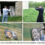 <b>5.The shooter:</b> Alexandre Capy, who heads a non-party affiliated list in the town of Ouzouer-sur-Trézée, might be one to avoid, if you're the president that is. He caused a stir earlier this year when photos emerged of him shooting real guns at photos of François Hollande and former Socialist party leader Martine Aubry. Reports in French media said Capy had links with ultra right-wing group Le Renouveau Français (French renewal).Photo: Screengrab Facebook