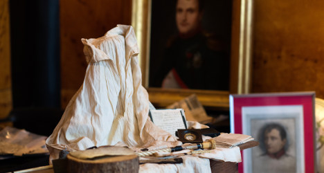 Napoleon's nightshirt pulled from auction