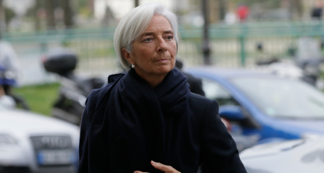 IMF chief Lagarde denies wrongdoing over payout