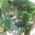 And here's the courtyard that will offer a shady place to enjoy a long lunch.Photo: Leggett Immobilier