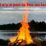 """8. """"Il n'y a pas le feu au lac"""" - In English """"There's no fire on the lake"""". Again this expression might be heard in French workplaces. Photo: <a href=""""http://shutr.bz/1id8QDO"""">Shutterstock</a>"""