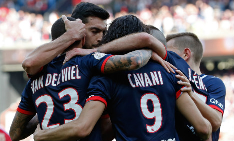 PSG win to seal Champions League spot