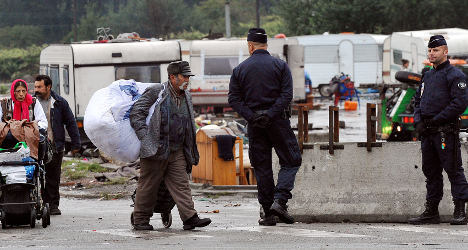 Roma 'victims of police violence' in France