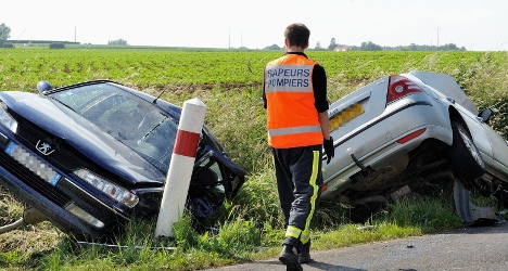 France sets an example over fall in road deaths
