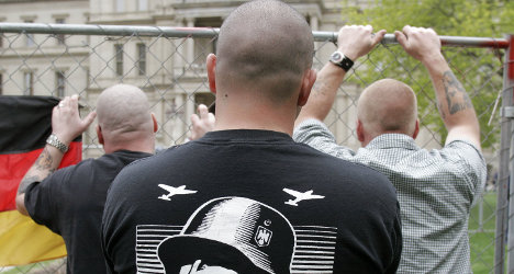 German neo-Nazis head to France to party