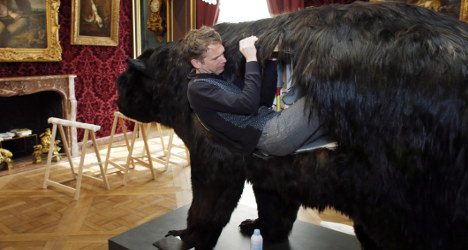 Frenchman to live inside a bear for two weeks