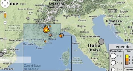 Provence and Riviera hit by 5.2 magnitude quake