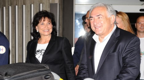 DSK's ex-wife: I 'had no idea' about his sex life