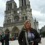 """""""I think that Parisians are nice to tourists. I recently had some problems with my Metro ticket, but there was a woman helping me out, so I do not think that they are rude here, but overall helpful,"""" says Carola Manzey from Munich, Germany, who was visitng Notre Dame. Photo: Anna-Sarah Eriksson"""