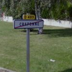 <b>Craponne</b> Thousands of enthusiasts turn up each year for the famous country and western music festival in the eastern French town of Craponne. Presumably a few Anglos have posed for giggling photos with the town sign.Photo: Screengrab/Google