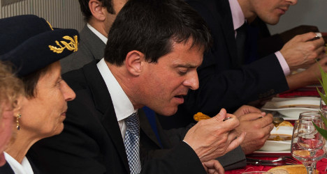 New French PM Valls lays down the law on… fish