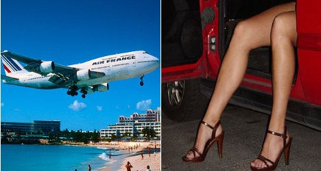 Air France exec 'ran €2m-a-year prostitution ring'
