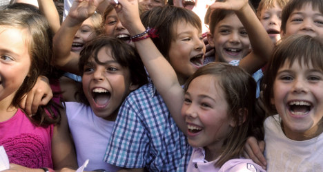 French parents laidback about kids' education