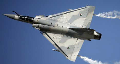 Air force jet crashes in French countryside