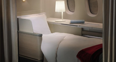 Air France unveils new luxury first class suite