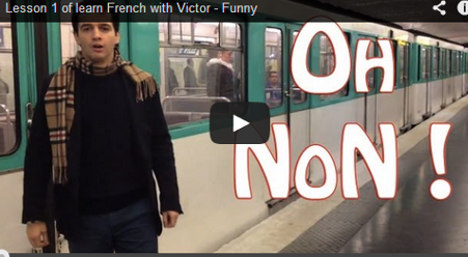 Learning French: Video lessons not to follow