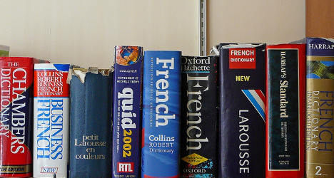 More English words slip into French language