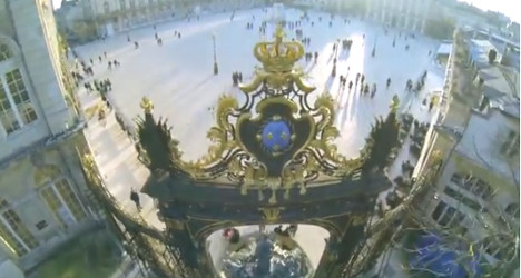 French teen fined for stunning drone flight film