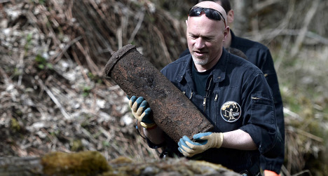 100 years on, WWI explosives still a danger