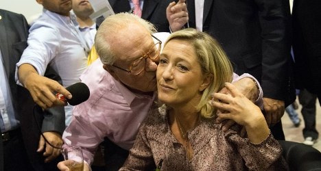 Marine Le Pen escapes shadow of her father