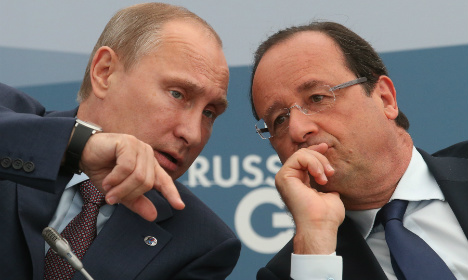Putin ready for Hollande talks at D-Day events