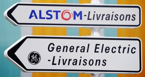 France rejects GE bid for Alstom 'in current form'