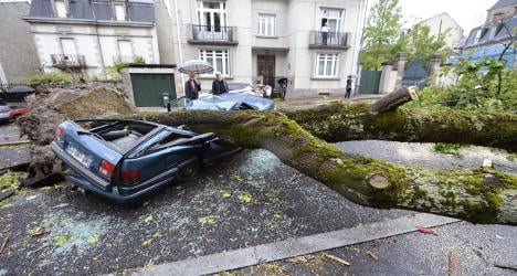 Violent storms leave two dead in France