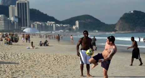 French cop 'tries to bribe Brazilian police'