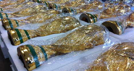 Fake World Cup trophies seized at Paris airport