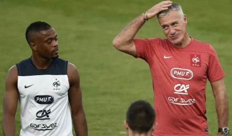 Evra fights his way out of French sin bin