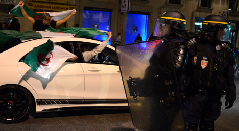 France ups security for Algeria World Cup clash