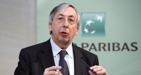 French bank exec to step down amid US probe
