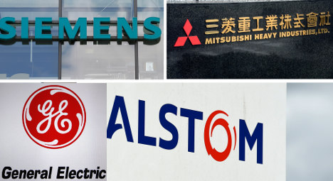 US and German rivals in bidding war for Alstom