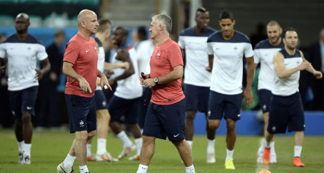 Confident France aim to make the Swiss roll