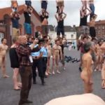"""In June last year, Culture Minister Aur&eacute;lie Filippetti was confronted by <a href=""""http://www.thelocal.fr/20140611/video-nude-performers-protest-pay-reforms"""" target=""""_blank"""">a human pyramid of partially clothed performers</a> and a wall of fully naked ones. The protesters were angry over a proposed pay reform."""