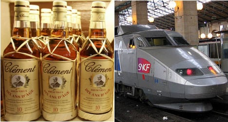 French rail workers filmed drinking on the job