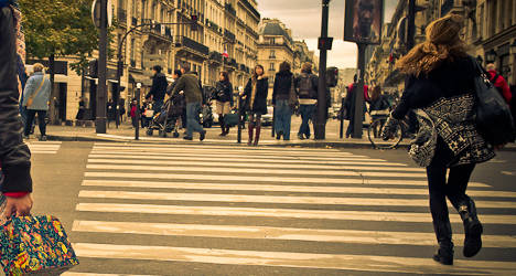 Rogue pedestrians fined €4 by French police