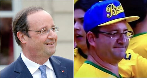 Has François Hollande sneaked off to Brazil?