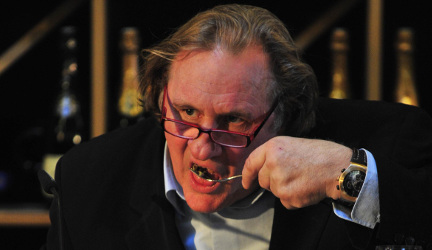 Depardieu to open French eatery in Moscow