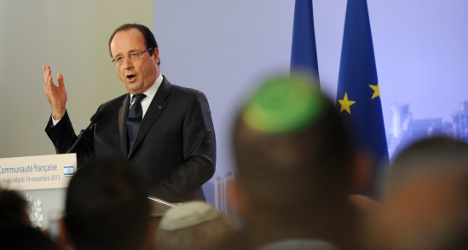 Hollande calls for end to Gaza suffering