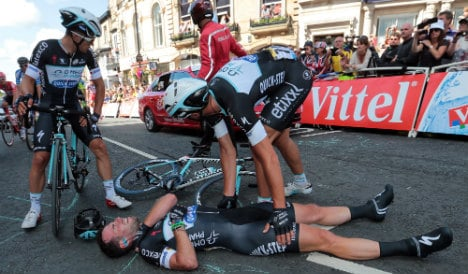 Cavendish 'gutted' by Tour de France pull-out