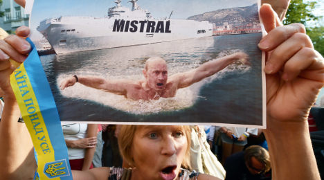 Mistral deal with Russia is 'unthinkable': Cameron