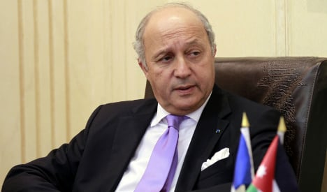 French FM insists Gaza truce 'absolute priority'