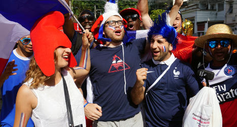 French celebrate freedom from hungry tax man