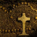 <b>Catacombs:</b> It's a series of chilly underground chambers with low ceilings and the neatly stacked bones of some six million Parisians. There is an incredible explanation for this remarkably macabre sight. In the late 18th century Paris's graveyards were gradually being closed because they presented a health risk to the living population, so the authorities ordered the remains transferred underground. You can find it on Avenue Colonel Henri Rol-Tanguy in the 14th arrondissement.Photo: Tommie Hansen/Flickr