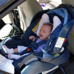 <b>Child seats:</b> In France kids must be ten or older before they can legally sit in the front seat. However, it's OK to put a baby up front as long as he or she is strapped into a rear-facing car seat. If police catch you breaking the rules it can mean a maximum fine of €750, which they can force you to pay on the spot.Photo: Joe Shlabotnik/Flickr
