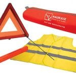 <b>Safety equipment:</b> Under French law, all cars, including those registered abroad, must carry a reflective safety vest that is accessible without getting out of the car and a warning triangle that must be placed behind the vehicle. The idea is to cut down on the chances of getting run over in the case the car breaks down. On-the-spot fines of €135 are handed out if the equipment is missing. Photo: Redimedic/Flickr