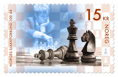 Chess Olympiad stamp