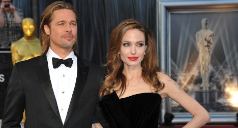 Pitt and Jolie tie the knot secretly in France